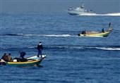تیراندازی نظامیان صهیونیست به سمت قایقهای صیادان فلسطینی