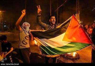 مظاهرات فی غزة تضامناً مع أهالی القدس