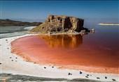 وسعت دریاچه ارومیه 190 کیلومترمربع کاهش یافت