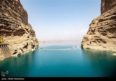کاهش شدید حجم آب پشت سد دز - خوزستان