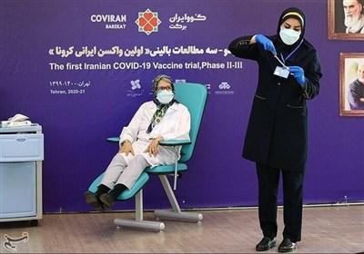 مینو محرز: نه تب داشتم نه عوارض / تولید ماهیانه ۱۵ میلیون واکسن «کوو ایران برکت»