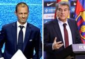 ادعای رادیو کاتالونیا درباره ملاقات خصوصی رؤسای بارسلونا و یوفا