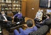 دیدار مدیرکل ورزش و جوانان تهران با سرپرست فدراسیون ورزشهای زورخانه ای و کشتی پهلوانی