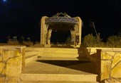 گزارش تسنیم نتیجه داد؛ نصب سیستم روشنایی تپه نورالشهدا ایلام + تصویر
