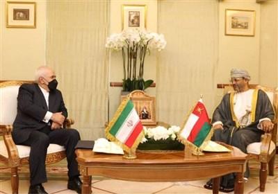 دیدار ظریف و وزیر خارجه عمان