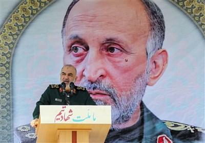 فرمانده سپاه: سردار حجازی تجربیات بزرگی در جبهه مقاومت داشت