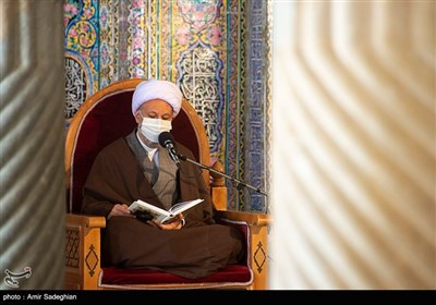 مراسم ترتیل خوانی و تفسیر قرآن کریم در مسجد نصیرالملک