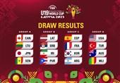 Iran Drawn with Latvia at FIBA U-19 Basketball World Cup 2021