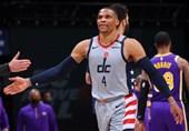 لیگ NBA| پیروزی ویزاردز با درخشش وستبروک/ شکست تورونتو تنها با 2 بازیکن ذخیره