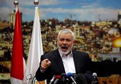 تأکید هنیه بر ادامه حملات مقاومت تا توقف کامل جنایات رژیم صهیونیستی