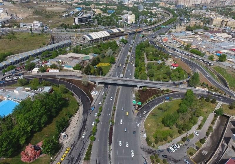 پروژه پل همسان کابلی تبریز افتتاح شد