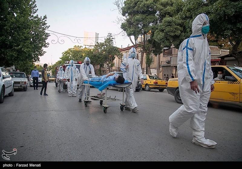 کارناوال نمایشی هشدار خطرات کرونا در کرمانشاه