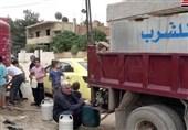 """بیتوجهی اهالی روستای """"دو اسب"""" در استان زنجان به الگوی مصرف/ شکستگی لوله انتقال باعث قطعی آب شده است"""