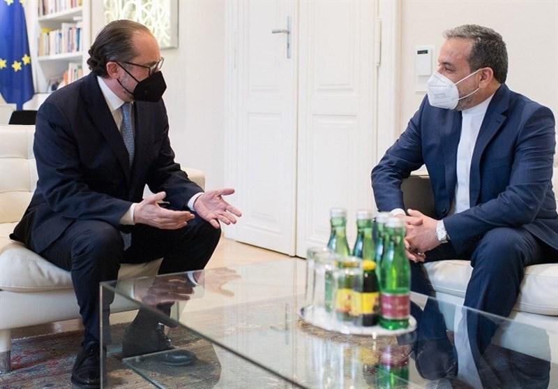 Iran's Araqchi, Austrian FM Discuss JCPOA Talks in Vienna