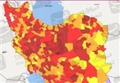 تغییر رنگبندی کرونایی در گیلان؛ 14 شهرستان همچنان نارنجی است