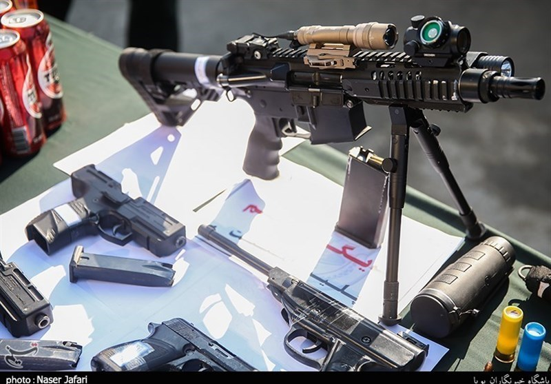 Iran Police Disband Gang Selling American Guns