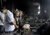 آخرین دردسر هند؛ 18 کشته در آتش سوزی بیمارستان بیماران کرونایی