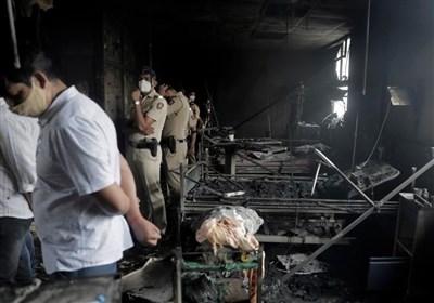 آخرین دردسر هند؛ ۱۸ کشته در آتش سوزی بیمارستان بیماران کرونایی