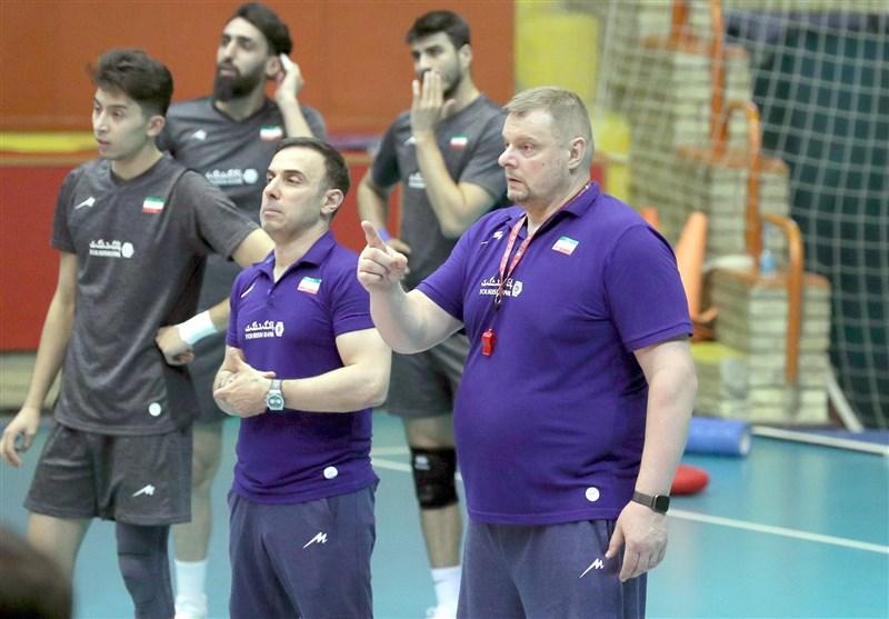 آلکنو: برنامه تمرین تیم ملی والیبال کاملاً تغییر میکند