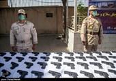کشف 81 قبضه اسلحه در کرمانشاه/43 متهم دستگیر و تحویل مراجع قضایی شدند