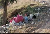 زبالهها بلای جان طبیعت ارومیه شدهاند + فیلم