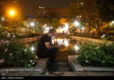 مراسم احیاء شب نوزدهم در مسجد ارک