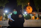 شب زندهداری مردم شیراز در سومین شب قدر