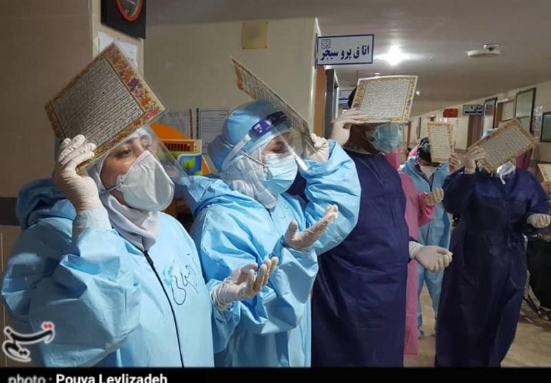 احیای شب قدر در بیمارستان دزفول + فیلم