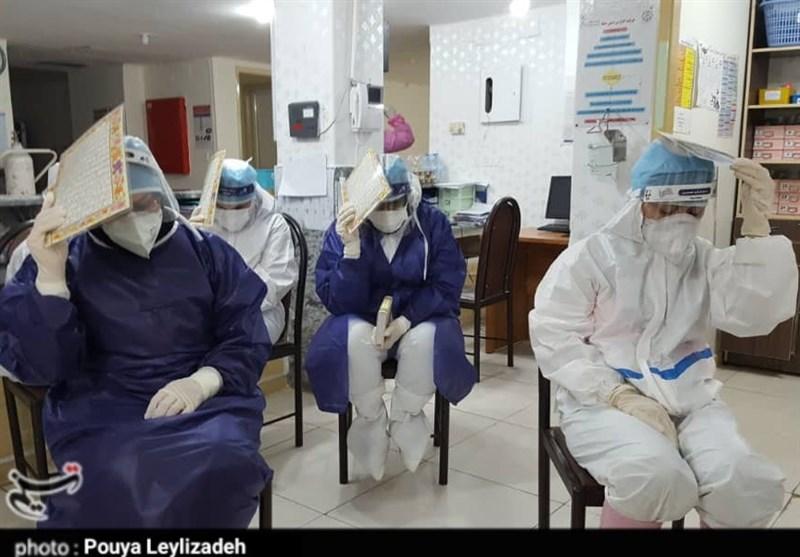 احیای شب قدر در بیمارستان بزرگ دزفول به روایت تصویر