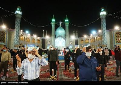 احیا شب نوزدهم در امامزاده محمد هلال بن علی(ع)