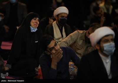 مراسم احیای شب نوزدهم در میدان فلسطین