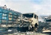 افغانستان| آتشسوزی کابل پس از ساعتها و کشته شدن 10 نفر خاموش شد