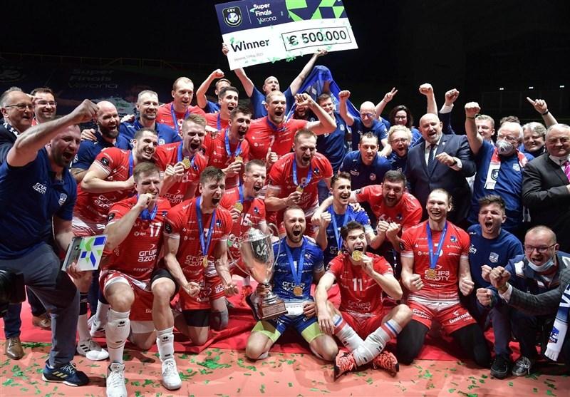 تیم والیبال زاکسا قهرمان اروپا شد
