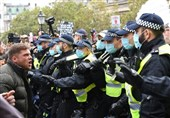 Nine Arrests After Angry Protesters Gather in Central London