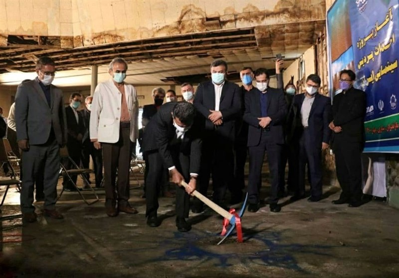 ساخت بزرگترین پردیس سینمایی شمال کشور آغاز شد