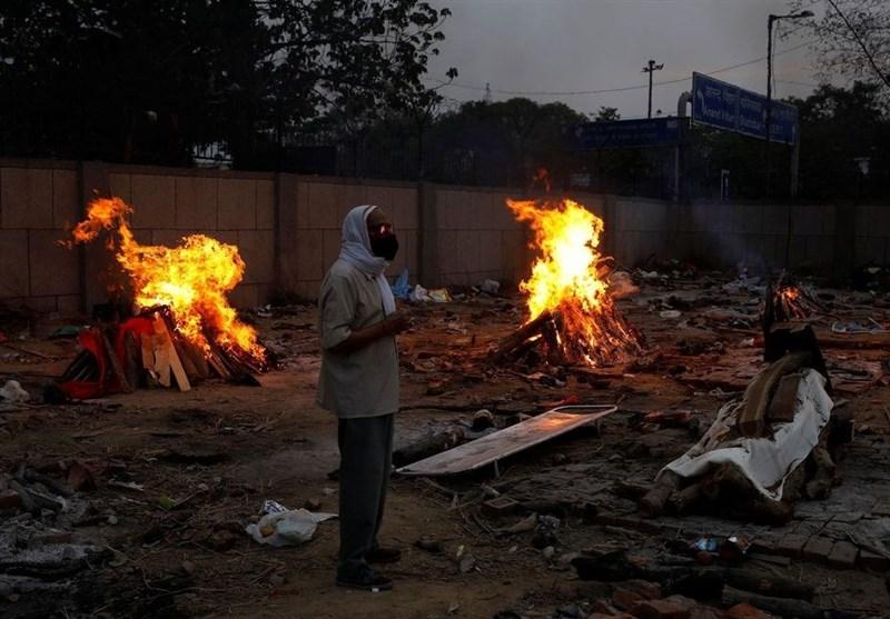 کرونا باز هم در هند رکوردشکنی کرد؛ 4هزار کشته و 412 هزار مبتلای جدید