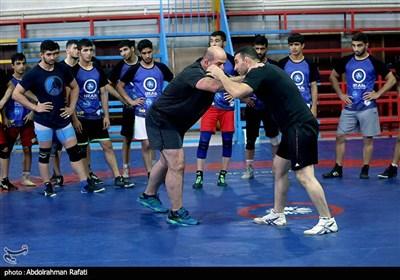 اردوی تیم ملی کشتی جوانان ایران در همدان