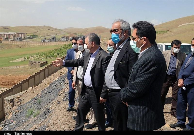 بازدید استاندار کردستان از پروژههای نیمهتمام شهری به روایت تصویر