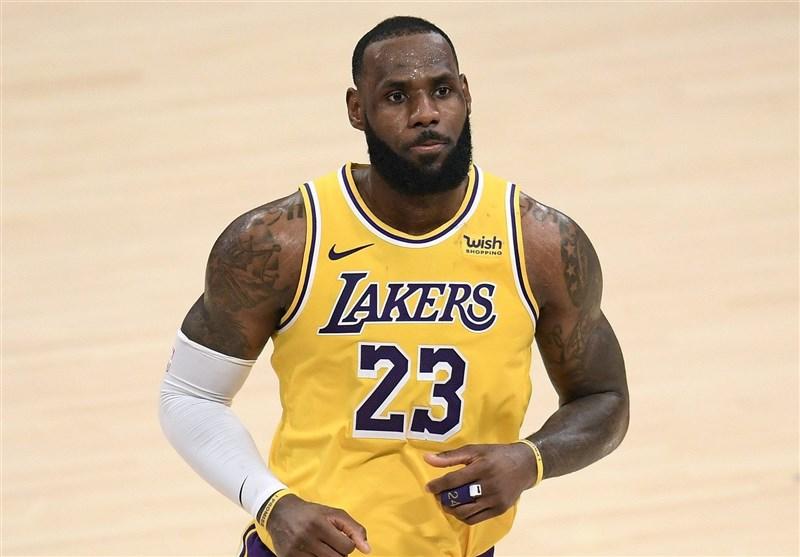 لیگ NBA| جیمز دوباره مصدوم شد