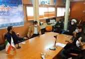 نماینده مردم اهواز در مجلس یازدهم از دفتر استانی تسنیم بازدید کرد + تصویر