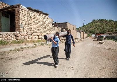 تدریس در طبیعت - کرمانشاه