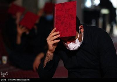 مراسم احیای شب بیست ویکم در مهدیه تهران
