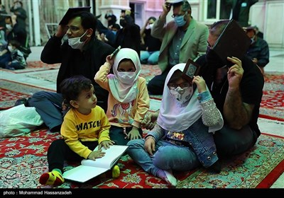 مراسم احیای شب بیست ویکم ماه رمضان در مسجد موسی بن جعفر (ع)