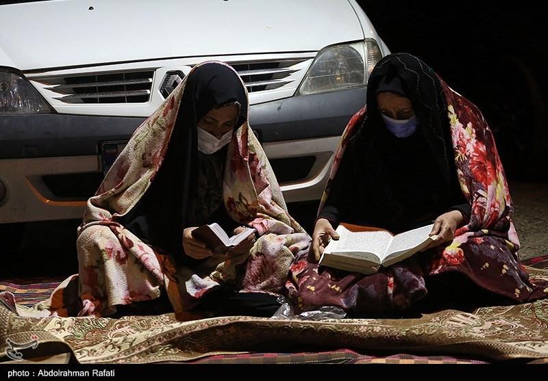 مراسم احیای شب بیست و یکم ماه مبارک رمضان در همدان