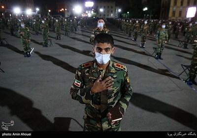 مراسم احیای شب بیست و یکم در دانشکده افسری امام علی(ع)