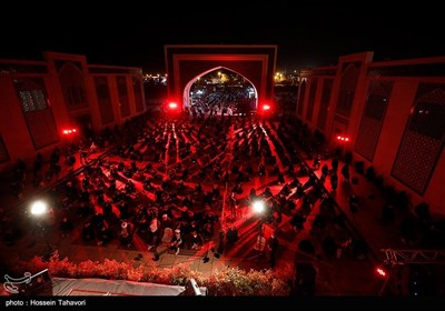 مراسم احیای شب بیست و یکم ماه رمضان در کیش