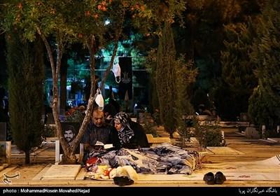 احیای شب بیست ویکم ماه رمضان در گلزار شهدا بهشت زهرا(س)