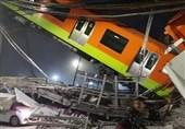حادثه ریزش پل قطار شهری در مکزیکوسیتی با 15 کشته و دهها زخمی