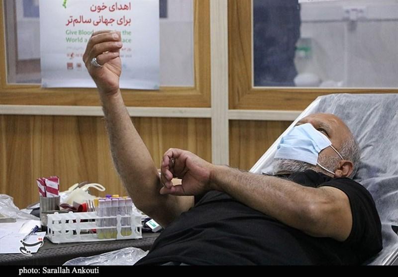 اهدای خون کرمانیها در شب شهات امام علی (ع) به روایت تصویر