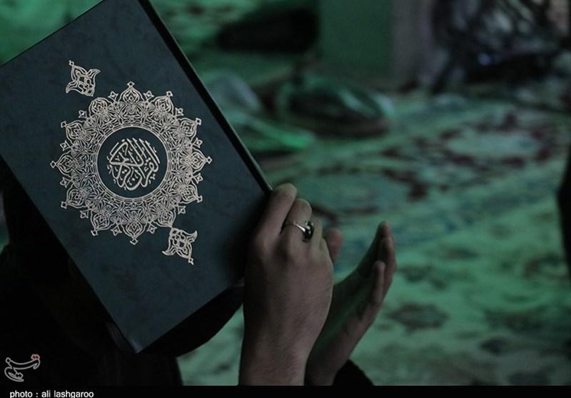 نوای عاشقی مردم سمنان در دومین شب قدر به روایت تصاویر